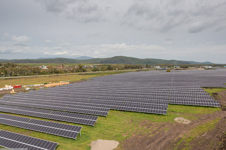 Солнечная электростанция на Алтае. Майминская СЭС